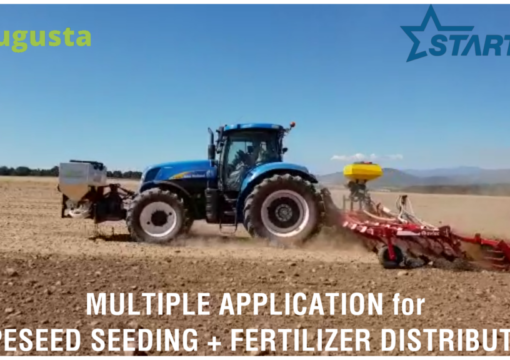 BROADCAST SOWING IN ADDITION TO LOCALIZATION… NEW UPCOMING SOLUTIONS FOR THIS AUTUMN!